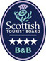 VisitScotland 4 star B and B award